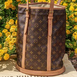 LOUIS VUITTON Amazing Bucket GM (Large) Bag